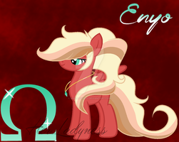Princess Enyo -Official OC Debut- by HerLadyness
