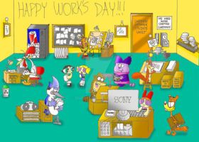 Work at Cartoon Network by dudiho