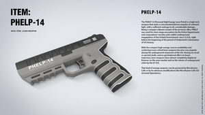 IN-GAME ITEMS: PHELP-14 by blackcloudstudios