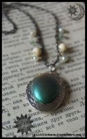 Faux Antique Locket by quidditchmom