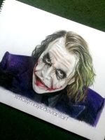 The Joker (The Dark Knight) by MollyThomas