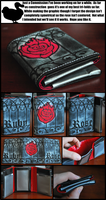 RWBY Themed Duct Tape Wallet by weRDunfo