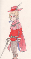 Romania the Red Mage by SwiftNinja91