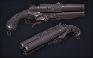 'The Jolly' (high poly shutgun model) by tsabszy