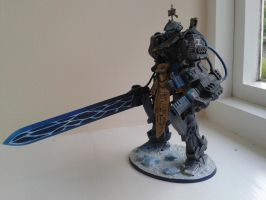 Frost Sentinel Dreadknight - right side by WoodlandHermit