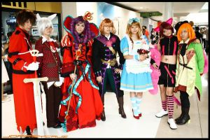 CNKNA Group Cosplay by seirie06