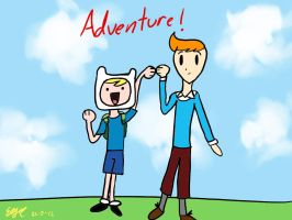 Two kind of adventurers by erisama