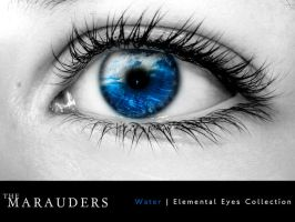 Elemental Eye - Water by W3R3W0LF666