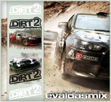 DiRT 2 icon for dock by evaldasmix