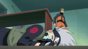 AWW. Kakashi's crying. by NarutoFan1411