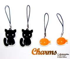 acrylic Charms part 2 by Greencherryplum