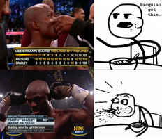 Cereal Guy - Pacquiao vs. Bradley by INF3CT3D-D3M0N