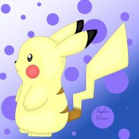Pikachu - Pokemon by ShadowSilverfan1997