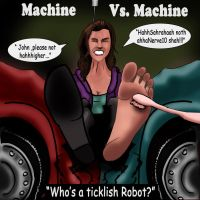 Machine Vs Machine by Bigfootfantasies