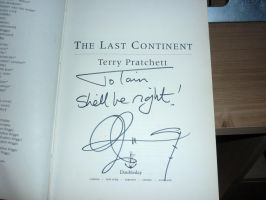 RIP Sir Terry Pratchett by jedi-fox