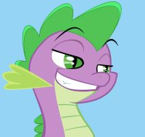 Spike, like what you see? by DPieDash