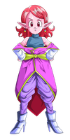 Supreme kai of time render by Evil-Black-Sparx-77