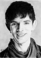 Merlin, smile by Miss-Catherine