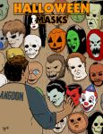 Halloween Masks by pjperez