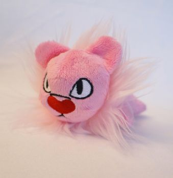 Lion plush by Fafatacle