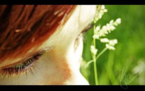 redheads and lashes by Cynthiaa