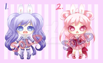Cutie Adopts: Mini Set 2: SOLD OUT by RaineSeryn