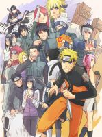 konoha team by warable