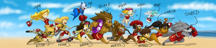 SHRED'S 44 LIFEGUARDS RUN 11 by ShoNuff44