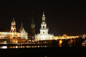 dresden night view 2 by alamic-marius