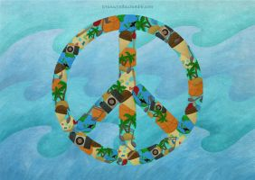PEACE - self poster by levanacynthia