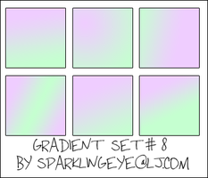 Gradient Set 7 by sparkling-eye