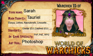 world-of-warchicks ID by CherryPandax3