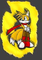 Miles Tails Prower by MUGEN00b
