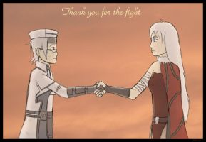 GGGC: Thank you for the fight by Silver1bow