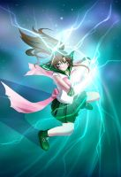 Sailor Jupiter - Supreme Thunder by beside-XIV