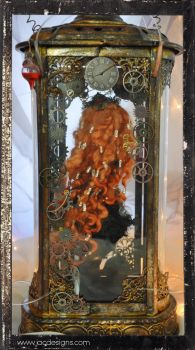 Steampunk Victorian Fantasy jointed doll by SutherlandArt