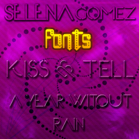 Selena Gomez's CD Fonts by AraceliAlonso