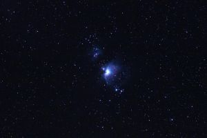 Red Rock Orion Nebula by amewz