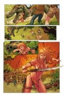 Deviation 39-Jungle Girl Page by FrankDa