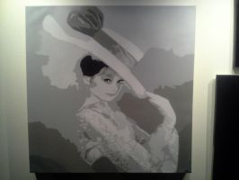 Audrey Hepburn by neversummer160
