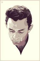 Johnny Cash by monsteroftheid