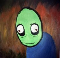 salad fingers by 333Miami333