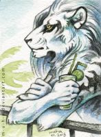 ACEO Dragon by m-u-h-a