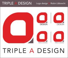 Triple A design logo design by reavX