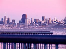 San Francisco (From Sausalito) by MissMimsy23
