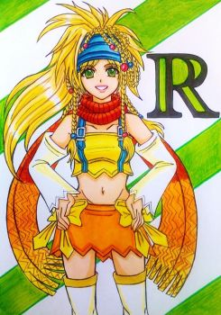 Rikku Final Fantasy X-2/ Kingdom Hearts 2 version by dagga19
