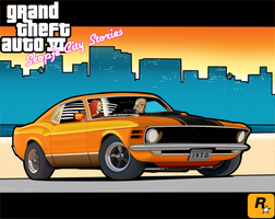 Ford Mustang 1970 Toon - Anton by antongj