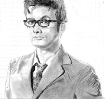 David Tennant as the 10th Doctor :D by fezzes-and-bowties