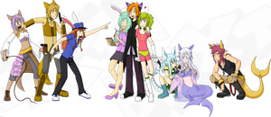 Group Trade (with Hika!) by Dext