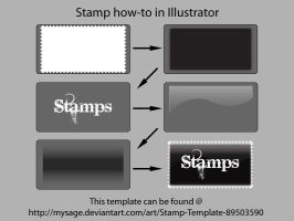 Stamp Template How-to by mysage